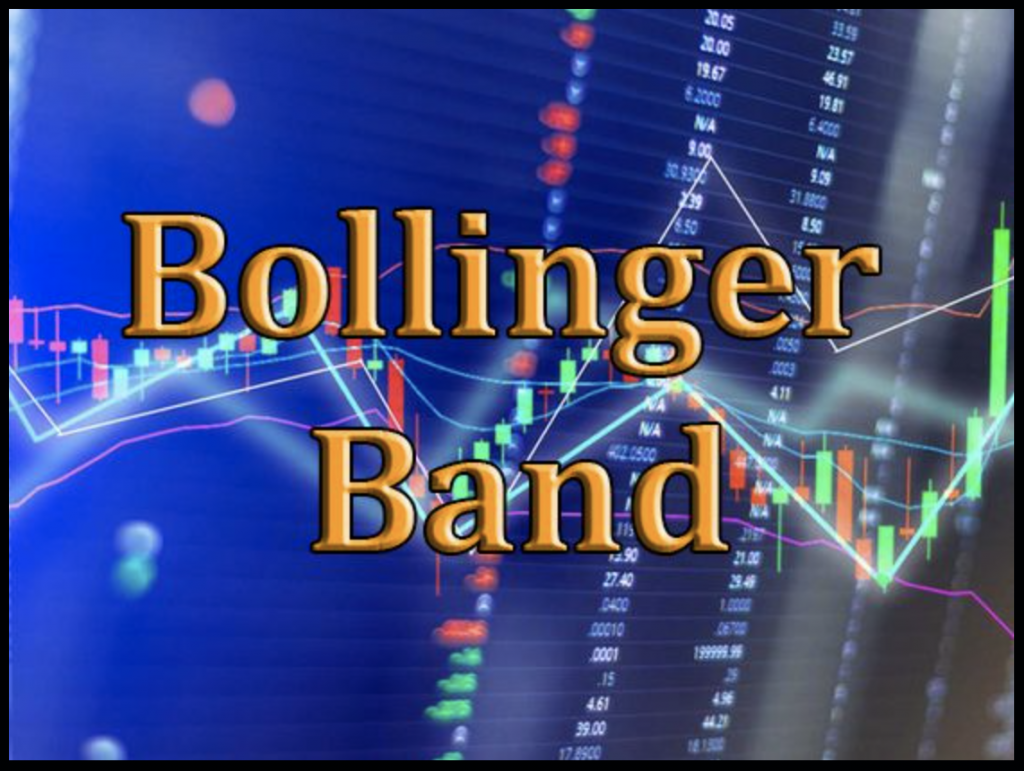 Bollinger bands indicator with support and resistance on Binomo