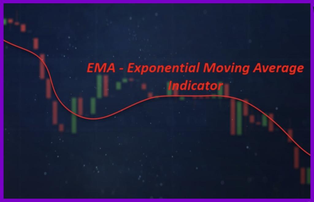 Ema Indicator using in Binomo